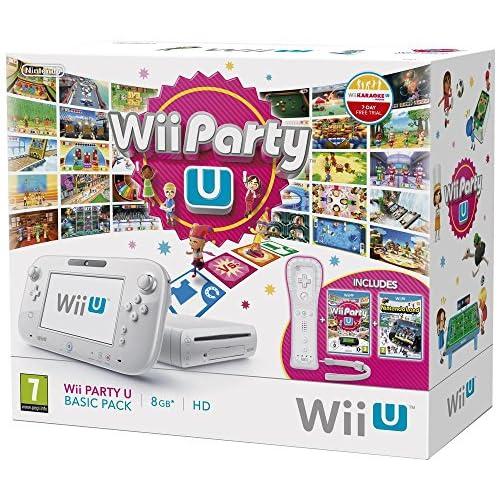 Wii U Party U Basic Pack,white (incl. Nintendo Land) - [Edizione: Germania]