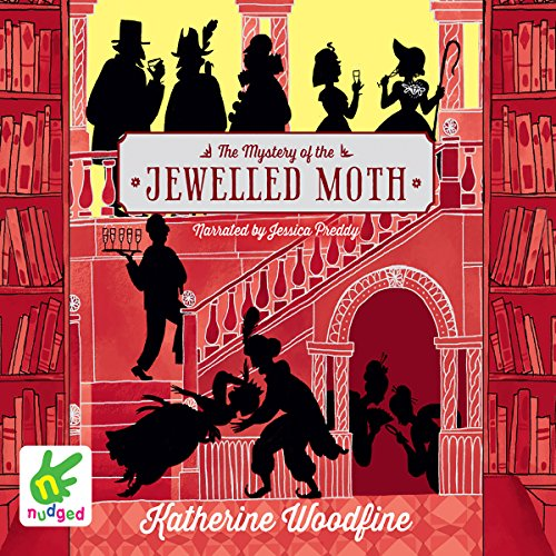 The Mystery of the Jewelled Moth audiobook cover art