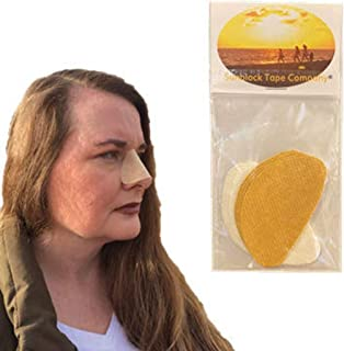 Sun Protection Nose Patch (Beige, White)