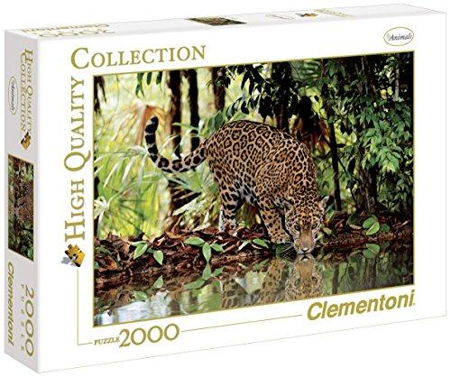 Clementoni - 32537 - High Quality Collection Puzzle - Leopard - 2000 Pezzi