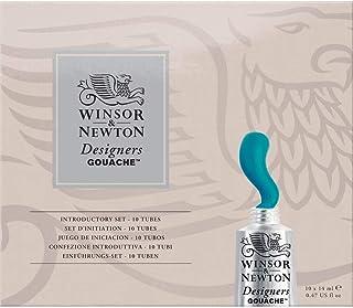 Winsor & Newton Designers' Gouache Introductory 10-Tube Paint Set, 14ml