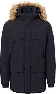 Napapijri Men's Faux Fur Trim Waterproof Skidoo Parka Black