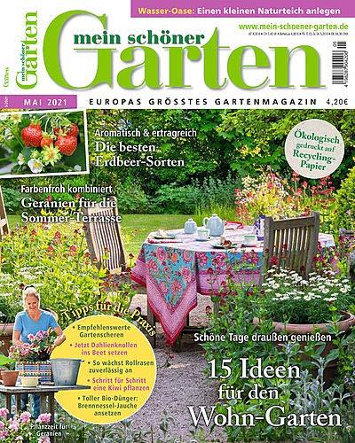 Mein schöner Garten 5/2021 '15 Ideen...