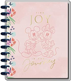 $39 » The Happy Planner Disney Daily 12 Month Planner – Jan 2022 – Dec 2022 – Daily, Weekly & Monthly Disc-Bound Pages – Colorbl...