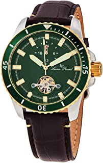 Lucien Piccard Automatic Green Dial Men's Watch 1298A6