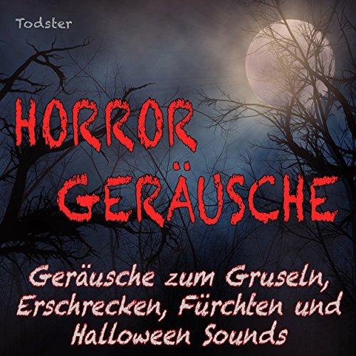 Horror Geräusche - Geräusche zum Gruseln, Erschrecken, Fürchten und Halloween Sounds