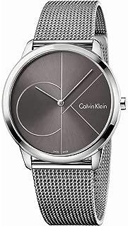 Calvin Klein Men's Analogue Quartz Watch with Stainless Steel Strap K3M21123