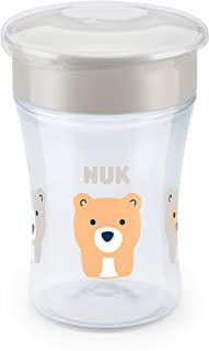 NUK Evolution 360 Cup, 8 oz, 1-Pack, White