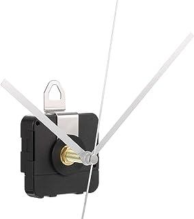 28 mm Mouvement d'Horloge à Quartz d'Arbre Long Kit de Réparation de Pièces d'Horlogerie (Argent)
