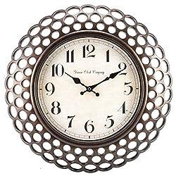 10025330 Geneva Clock Company 16 Plastic Analog Wall Clock