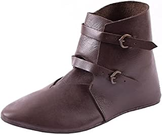 bottines cuir médiévales