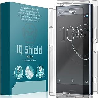 IQShield Sony Xperia XZ Premium Screen Protector, IQ Shield Matte Full Coverage Anti-Glare Screen Protector + Full Body Sk...
