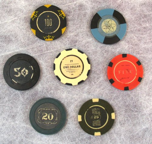 FALLOUT New Vegas Collector s Edition Lucky 7 Poker Chips