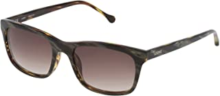 Loewe - SLW941M55091K Gafas de sol, Brown Horn/Shiny Havana, 55 para Mujer