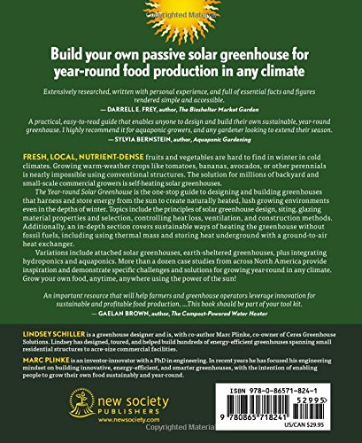 The year-round solar greenhouse: how to design and build a net-zero energy greenhouse 2 the year round solar greenhouse how to design and build a net zero energy greenhouse