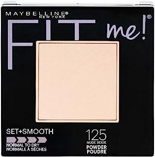 MAYBELLINE Maybelline Fit Me Pressed Powder Nude Beige 125, 9 Gram
