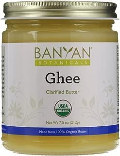 Banyan Botanicals Ghee - Certified Organic - From Grass Fed Cows - 7.5 oz - Gourmet Clarified Butter