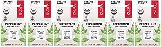 RADIUS Organic Floss, Peppermint (Pack of 6)
