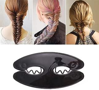 Floralby Women's Hair Braiding Tools Magic Twist Roller Weave Fish Bone DIY Hair Styling Accessories