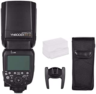 YONGNUO Updated YN600EX-RT II Wireless Flash Speedlite with Optical Master and TTL HSS for Canon AS Canon 600EX-RT w/EACHS...