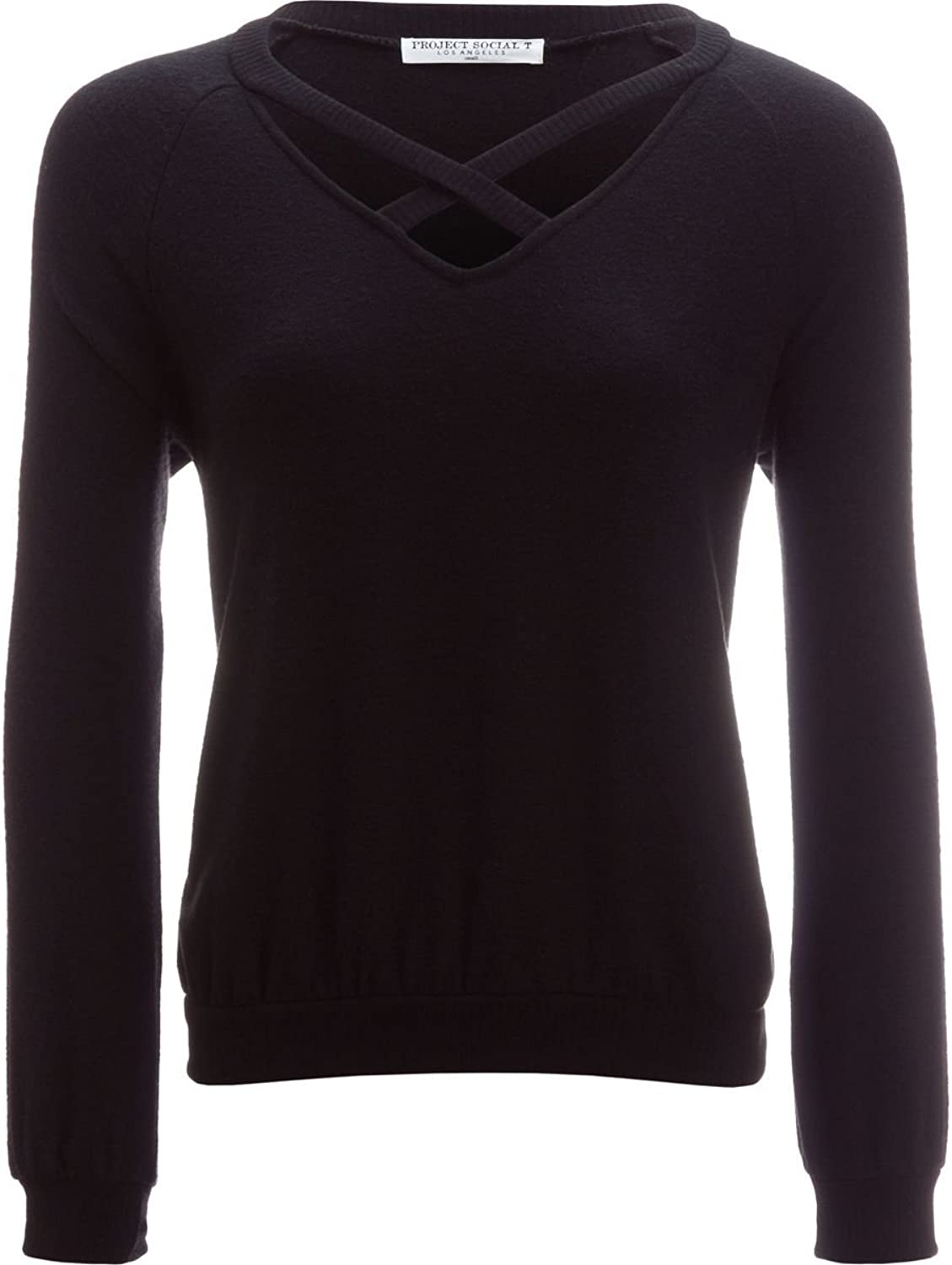 Project Social T Womens Path That X Casual Long Sleeves Sweatshirt