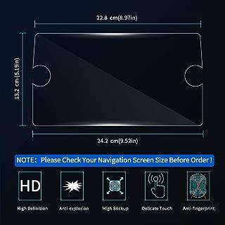 JXSMFXP Car Styling Display Film GPS Navigation Screen Glass Pel/ícula Protectora Control Actual de la Pantalla LCD Film./para BMW X3 G01 2018