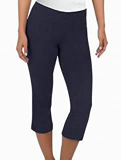 Jockey Women's Slim Capri Flare Athletic Pant
