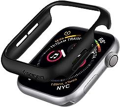【Spigen】 Apple Watch 44mm ケース 【 Series 5 / series 4 対応 】 落下 衝撃 吸収 簡易着脱 超薄型 シン・フィット 062CS24474 (ブラック)