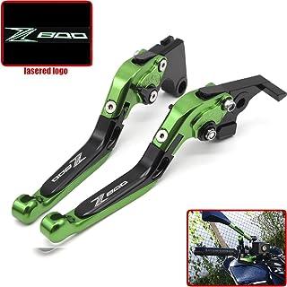 Z800//Z800E 2013-2016 Nero Auzkong Leve Freno Frizione Corto Regolabile Leve per Kawasaki Z750 2007-2012