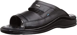 Coolers (from Liberty) Men's 2050-111N Black Leather Hawaii Thong Sandals-9 UK/India (43 EU) (2050068100430)