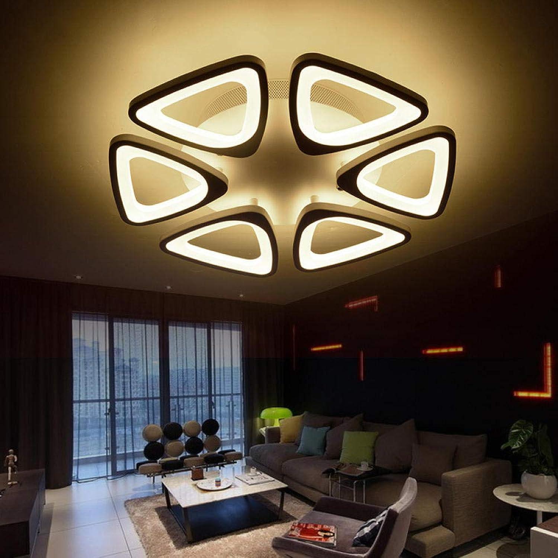 Deckenleuchte Acryl Beleuchtung LED Deckenleuchte Wohnzimmer Beleuchtung Schlafzimmer Studie Restaurant-A_Dimming