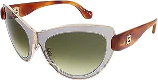 Balenciaga Sunglasses BA0001 20P Gold/Grey Frame, Green Gradient