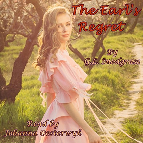 The Earl's Regret audiobook cover art