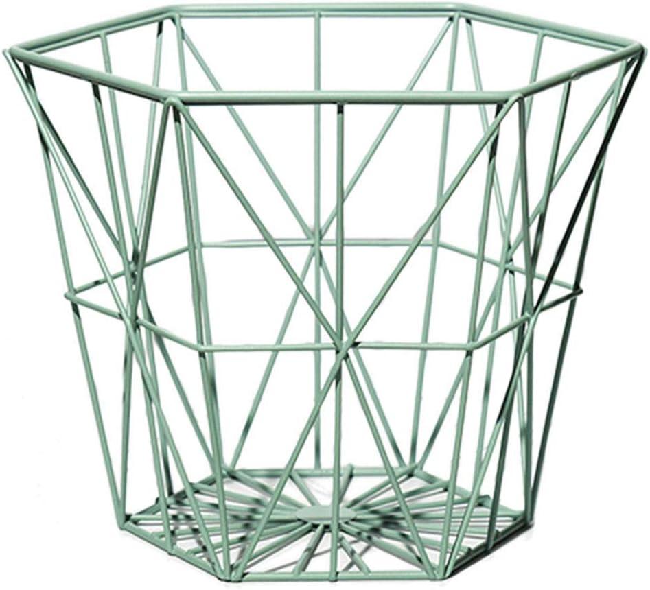 MYERZI Modern Style Aufbewahrungsbox Wrought Storage New arrival Basket Iron Super popular specialty store