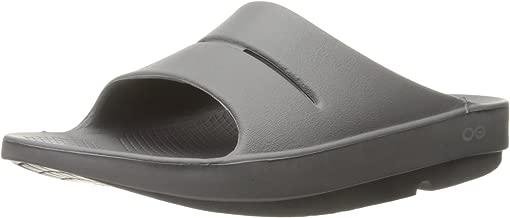 OOFOS Unisex Slide Sandal, 7 Womens US / 5 Mens US
