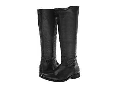 Frye Melissa Inside Zip Tall (Black) Women