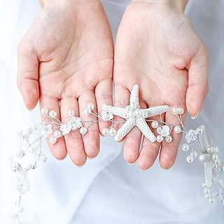 starfish bridal hair accessories
