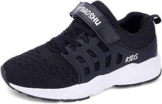 Decai Baskets Enfant Garcon Chaussure de Course Fille Chaussures de Running Sport Respirant Légère Sneakers Competition En...