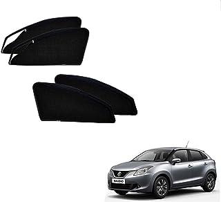 Kozdiko Zipper Magnetic Sun Shades Car Curtain for Maruti Suzuki Baleno Nexa