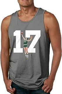 Men's Sleeveless Tank Top Shirts John-havlicek Goat Cotton Gym Vest Casual Sport T-Shirts