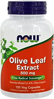 Now Foods - Olive Leaf Extract, Vegetarian 500 Mg. 120 Capsules
