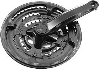 comprar comparacion PROWHEEL - 356 : Triple plato y bielas platos plastificadas cubrecadenas 170mm bici bicicleta