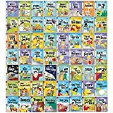 Biff Chip & Kipper Read with Oxford Phonics Stage 1,2,3 Collection 56 Books Set(Stage 1 First Step , Stage 2 Early Reader , Stage 3 Growing Reader)