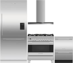 Fisher Paykel Fisher Paykel 4 Piece Kitchen Package RS36W80RU1N 36