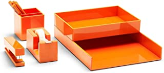$129 » Poppin All Set, Desk Collection Set, Orange