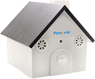Petsonik Ultrasonic Dog Barking Control Devices in Birdhouse Shape Instantly Regain Your Peace of Mind, Includes Free E-Book on Tips | Outdoor Bark Box - No Harm to Dog | Upgraded Bark House