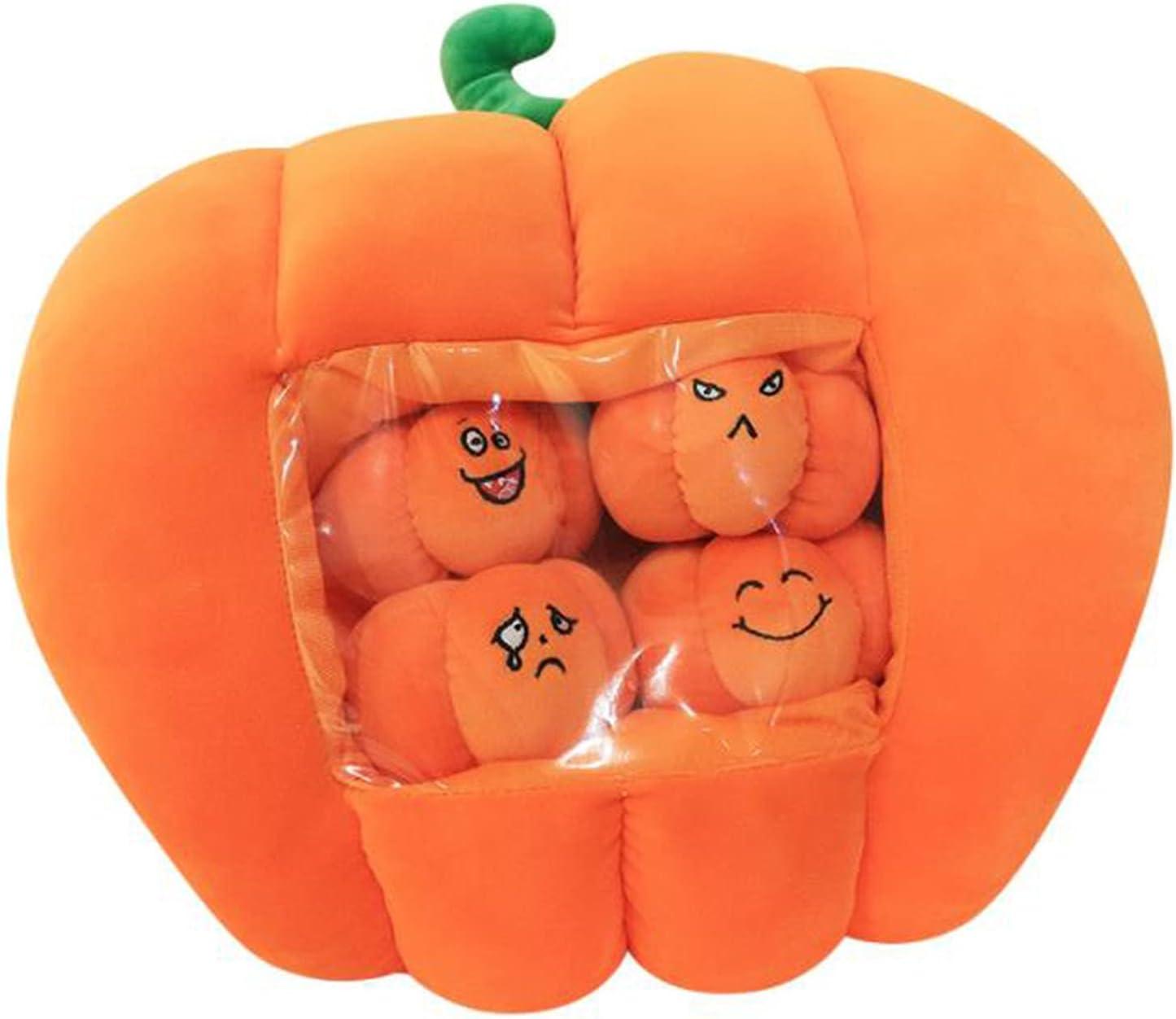 ABCD Halloween Manufacturer direct delivery Pumpkin Pillow Detachabl Nap Warmer Hand Lowest price challenge