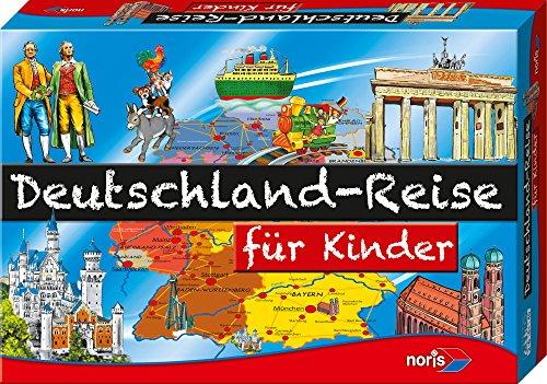Noris 606013760 - Deutschland Reise für Kinder, Kinderspiel