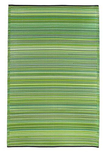 Fab Hab - Cancun - Grün - Teppich/ Matte für den Innen- und Außenbereich (240 cm x 300 cm)