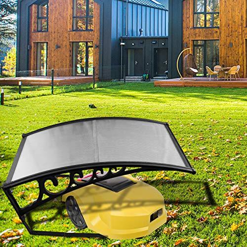 Wolketon Rasenmäher Garage Mähroboter Dach Carport 105 x 85 cm Für Rasenroboter Automower Rasenmäher Schutzhülle Garten Rasen